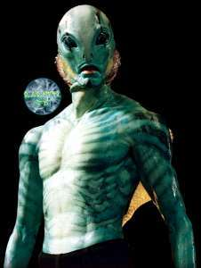 Abe Sapien--Hellboy Movie