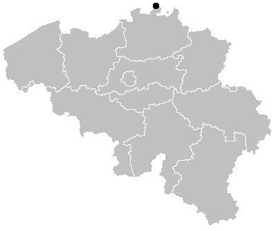 What's the most northen point of Belgium called ?