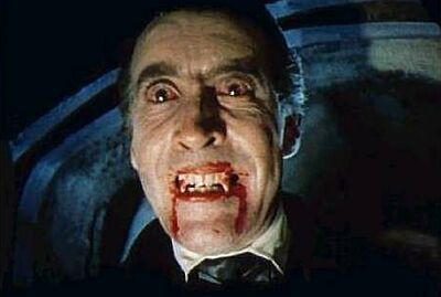 How many of the Hammer movies did Christopher star in playing Count Dracula?