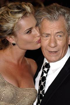 In which movie was Ian McKellen NOT in?