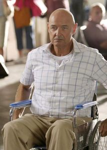 How many years was Locke in a wheelchair for???