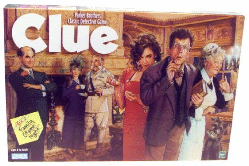 "In the North American version of ""Clue"", which of the following is NOT a possible combination for the murder that must be solved?"