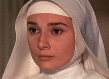 Audrey's film 'The Nun's Story' is based on whose autobiography?