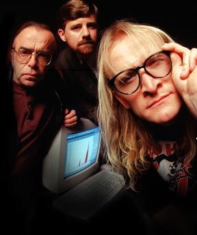 The Lone Gunmen's names are..