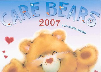 Who are the five Care Bears who were chosen to be the main characters in the new 2007 TV series?