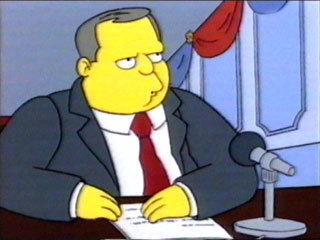 Birch Barlow says that there are three things that they'll never get rid of in Springfield. Which of these is NOT one of those things?