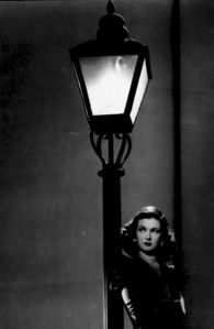 Actress Joan Bennett in a scene from a classic film noir? Which movie?