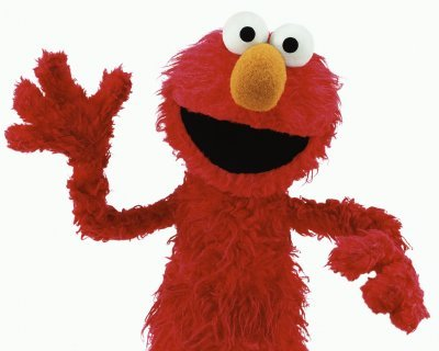 How old is the character of Elmo supposed to be?