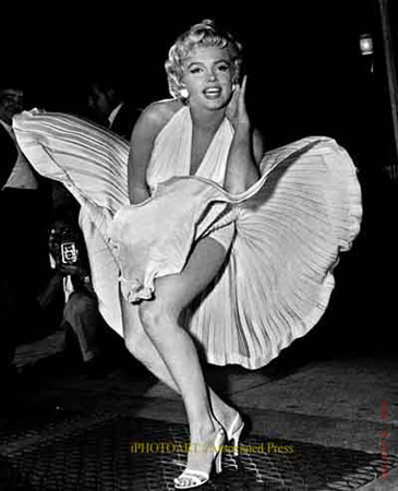 Which of the following did NOT 星, 星级 Marilyn Monroe?