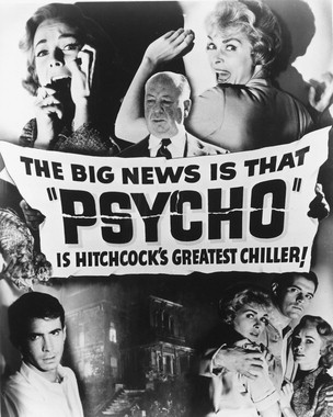 Who wrote Psycho?