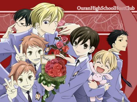 Who is mistaken for a boy in the anime Ouran High School Host Club?