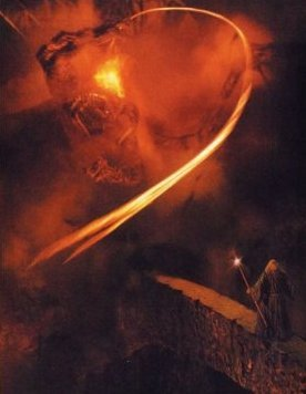 What does 'Balrog' mean?