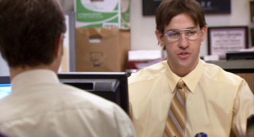 In which episode does Jim dress up as Dwight?