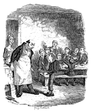 In the novel 'Oliver Twist,' who gives our impoverished young orphan his name?