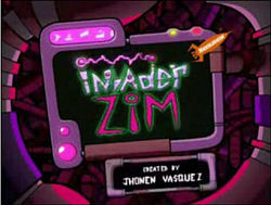 When was Invader Zim first aired?