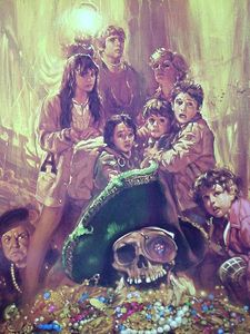 Who was the director of The Goonies?