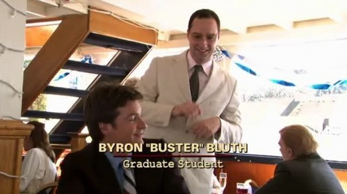 According to George Sr., Lindsay's got the looks, Michael's got the brains, Gob's got the charm, and Buster's got the...