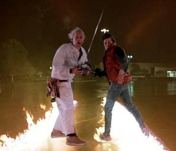 What song is used in Back To The Future Part 1?