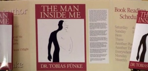 "Who was Tobias's book ""The Man Inside Me"" dedicated to?"