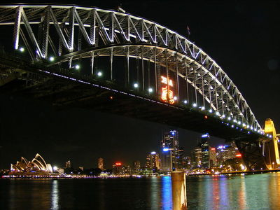 When was the Sydney Harbour Bridge officially opened?