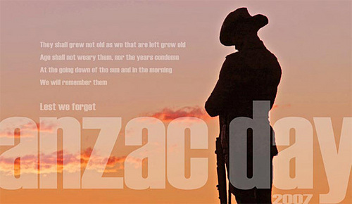 What day is Anzac Day commemorated?
