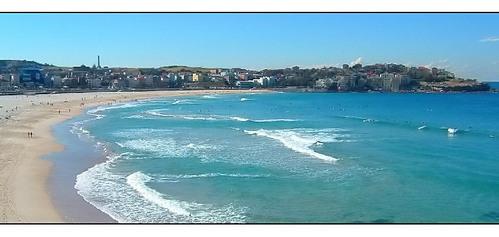 This beach is in Australia. True or false?