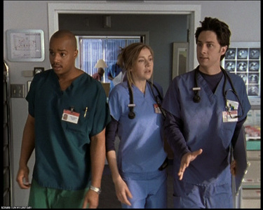 Which Cast Member from spin City has Not yet Been on Scrubs?