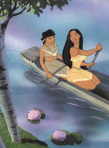 What is Pocahontas' friend's name?