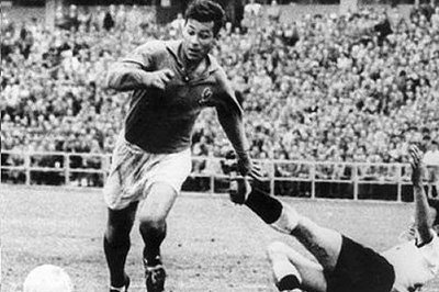 How many goals were scored by Fontaine from France in the 1958 World Cup?