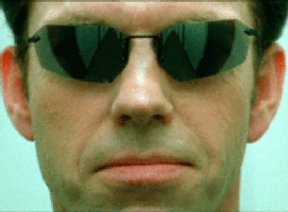 Hugo Weaving based his portrayal of Agent Smith on a character from which TV Show?