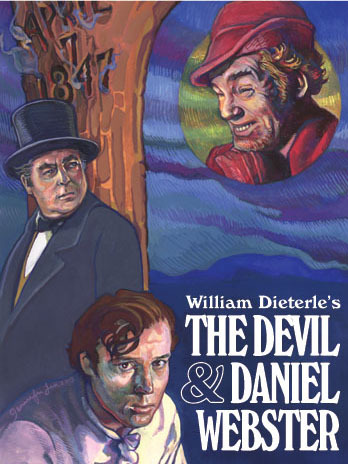 In 'The Devil And Daniel Webster', a poor farmer makes a pact with the Devil. As a result, how many years will he be rich?
