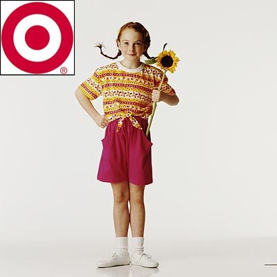 Before she got her break in The Parent Trap, the redheaded actress modeled in print ads for which corporation?