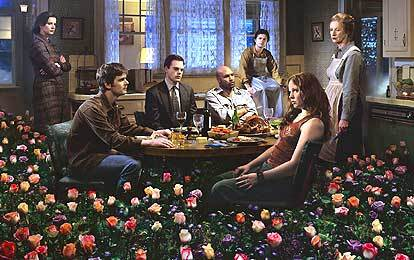 What did the HBO series 'Six Feet Under'  open nearly every episode with?