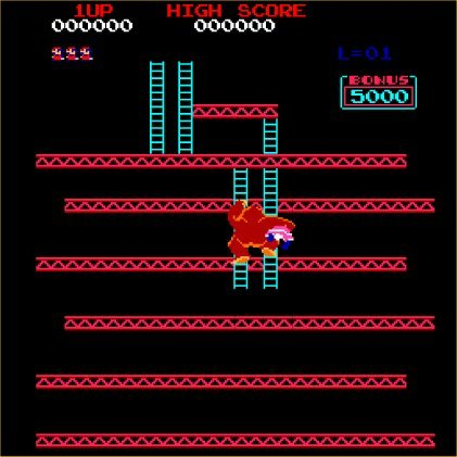 What is the name of the damsel that Mario is trying to rescue in Donkey Kong?