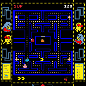 Name the four ghosts from Pac-Man.