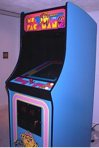 How much do bananas score in Ms. Pac Man?