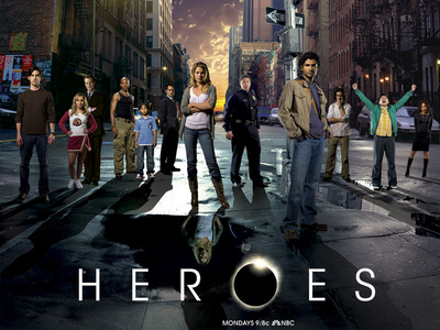 Which LOST actor never appeared on Heroes?