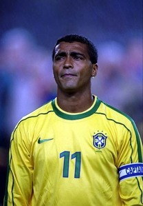 Which club brought superstar Romario to Europe?