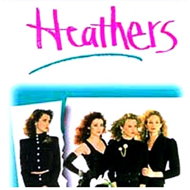 In the movie 'Heathers', what 'artifact' convinced the police that Ram and Kurt were gay?