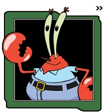 What is Mr. Krabs' middle initial?
