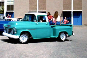 VEHICLE MATCHUP: Who's truck is this?