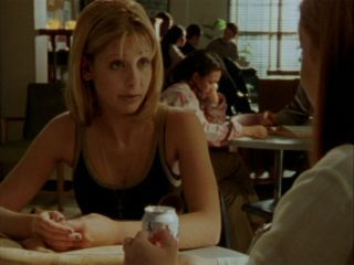 "According to Buffy in episode ""Halloween"", normal girls think about nail polish - what does say she thinks about?"