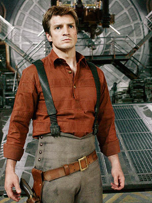 Nathan Fillion stared in what Sci-fi movie (sequel to a canceled TV show)?