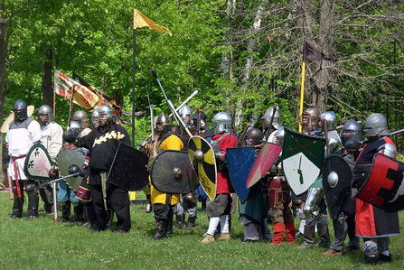 What do the letters SCA stand for in RenFest circles?