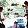 "Super Troopers: Complete the quote, ""it stinks like _____ in here."""