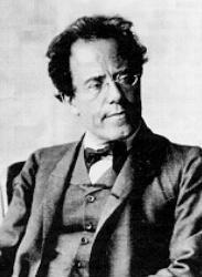 "Gustav Mahler is quoted as saying ""My time will come when his is over."" To whom was he referring?"