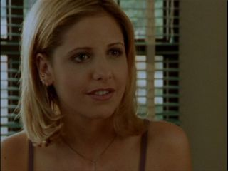 Who was Buffy's first crush in school?