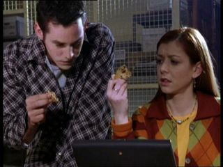 "In episode ""Ted"", what is the extra ingredient in the cookies?"