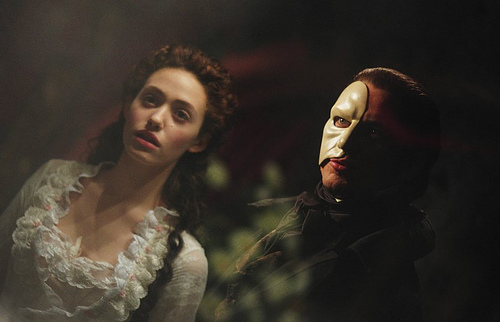 In the mirror scene what does the phantom call Raoul?