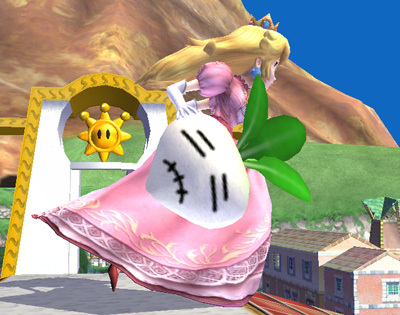 What are the chances that Peach's super powerful uyoga will appear for her down special move?